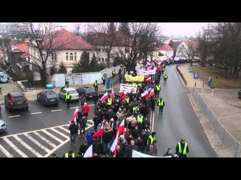 Protest Rolników W Warszawie 19.02.2015