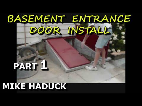 How I Install A Cellar Door Mike Haduck Youtube