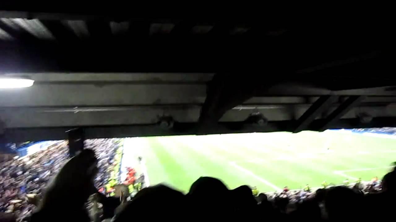 Restricted view seat at Stamford Bridge / Matthew Harding