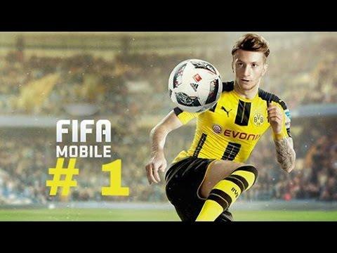 Прохождение игры FIFA Mobile : # 1 .