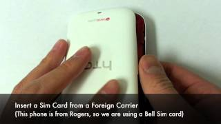 How to Unlock HTC Desire C Network by Unlock code in Minutes! Rogers, Fido, Orange, 3, Vodafone