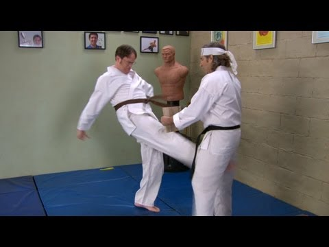 The Office: Dwight's Martial Arts Skills