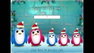 Caroling Christmas Penguins Video