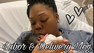 Labor & Delivery Vlog | Giving Birth During The Pandemic