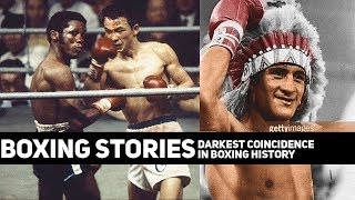 Boxing Stories: The Darkest Coincidence in Boxing History