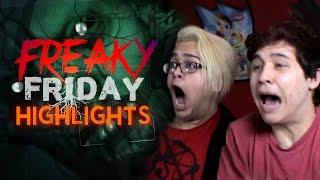 FREAKY FRIDAY RETURNS! Horror Game Highlights!
