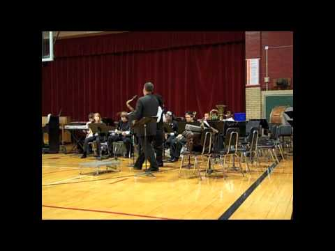 Brittany Woods Middle School Jazz Band, Dec. 15, 2010