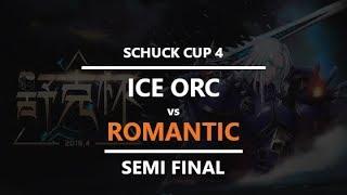WC3 - Schuck Cup 4 - Semifinal: [ORC] Ice orc vs. Romantic [HU]