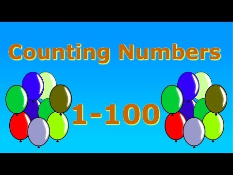 Counting Numbers 1-100 video