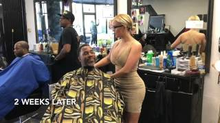 Why Some Male Clients Really Give Female Barbers Big Tips💈💵💦.
