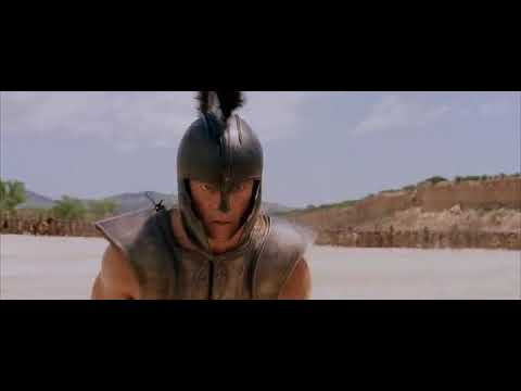 One Of The Best Fight Scene Ever From Troy(2004) Starring Brad Pitt