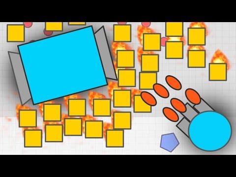 NEW TANK! NECROMANCER MAX LEVEL UPDATE! - Diep.io Game (New Slither.io / agar.io Game Diep.io)