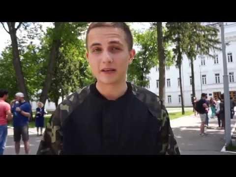 Артем Лоик - зйомки нового кліпу в ПолтНТУ
