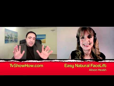 Alison Heath Easy Natural Facelift & Stay & Eat Healthy Good Nutrition advice