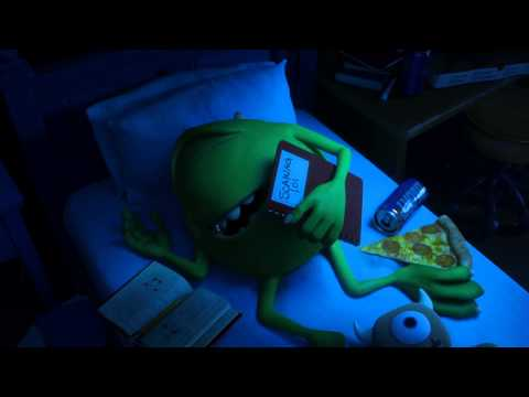 Disney/Pixar: Monsters University - original teaser trailer (HD)