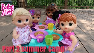 BABY ALIVE Summer Camp Part 2