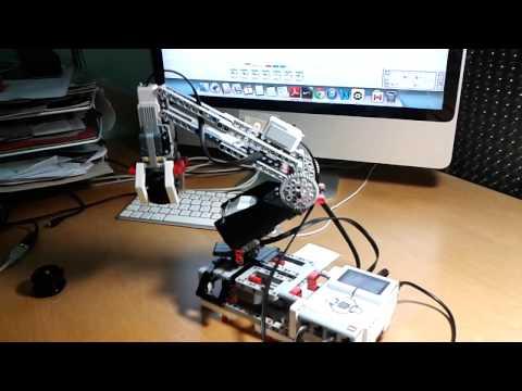 Legos Mindstorms EV3. Braç Robot
