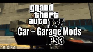 [PS3] GTA IV - XMC ModMenu v4.0 - Garage + Vehicle Mods