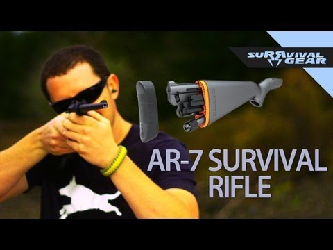 Henry AR7 U.S. Survival Rifle- Ultra-Portable Camping Firearm! - SuRRvival Gear w/ Richard Ryan