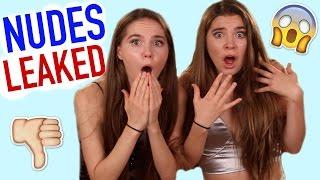 MY NUDES LEAKED ON THE INTERNET! - Nina and Randa