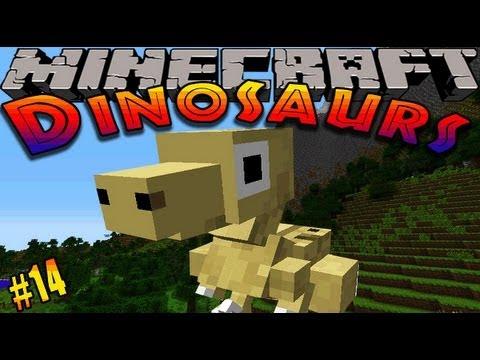 Minecraft Dinosaurs - ( Dinosaur mod ) - Episode 14 - FIRE HAZARD!!