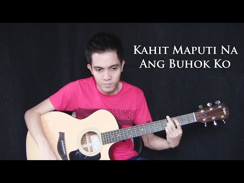 Kahit Maputi Na Ang Buhok Ko (re-arranged) - Noel Cabangon rey Valera (fingerstyle Guitar Cover) video