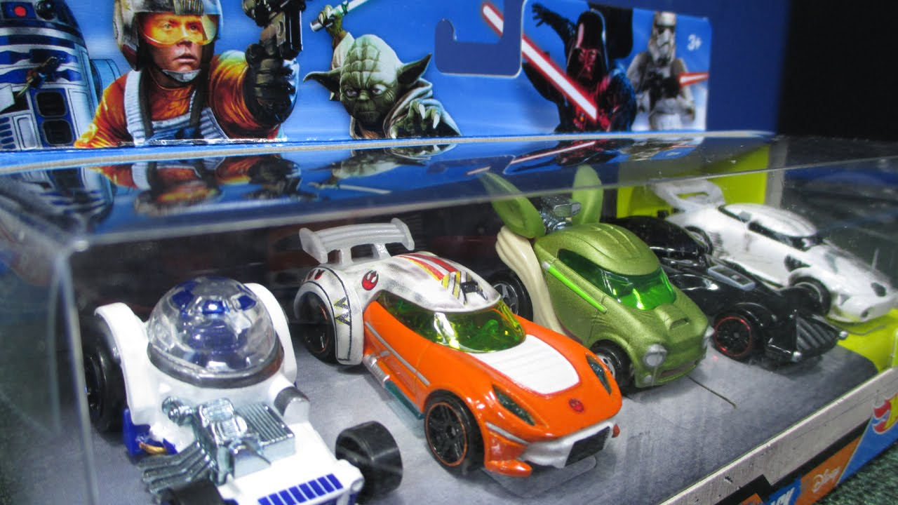 hot wheels star wars 5 pack with exclusive battle damage storm trooper youtube. Black Bedroom Furniture Sets. Home Design Ideas