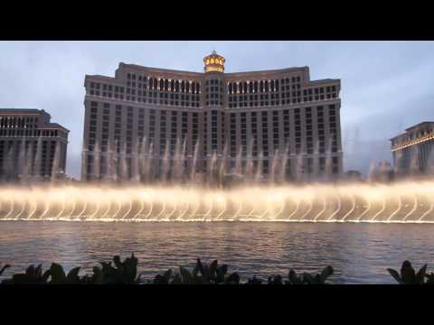 Frank Sinatra - Luck Be A Lady, Bellagio Fountains, Las Vegas video