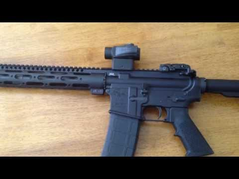 Palmetto State Armory AR-15 with Vortex Sparc