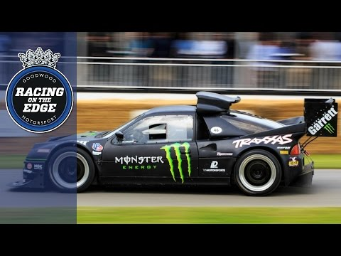 900hp Monster Ford RS200 attacks Goodwood