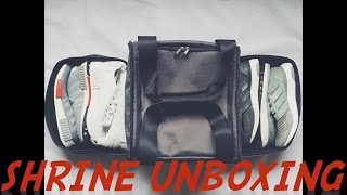 The Shrine Company Weekender Backpack and Sneaker Duffle Bag Unboxing