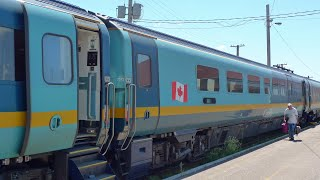 By train from Montreal to Halifax Nova Scotia with VIA Rail