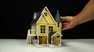How to build a POPSICLE STICK HOUSE!!