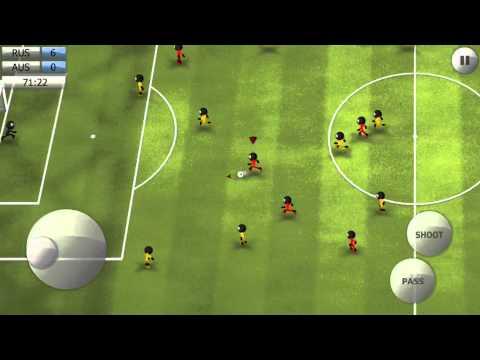 Stickman Soccer 2014 - Russia 7 / Australia 0