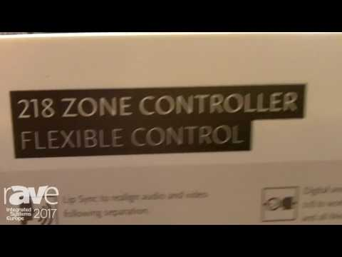 ISE 2017: Merdian Audio Intros Flexible 218 Zone Controller