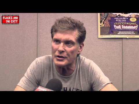 David Hasselhoff Interview - Knight Rider, Baywatch Movie & Retro Tales Comic Book