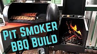 Offset Pit Smoker Build