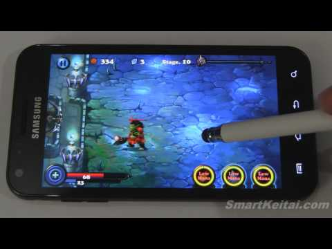 DroidHen's Defender for Android - Review (demoed on Sprint Epic 4G Touch)