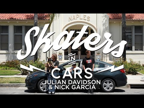 Julian Davidson and Nick Garcia: Skaters In Cars