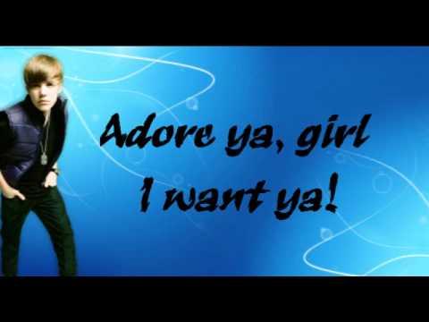 Justin Bieber - Favorite Girl [live] Lyrics (acoustic Version) video