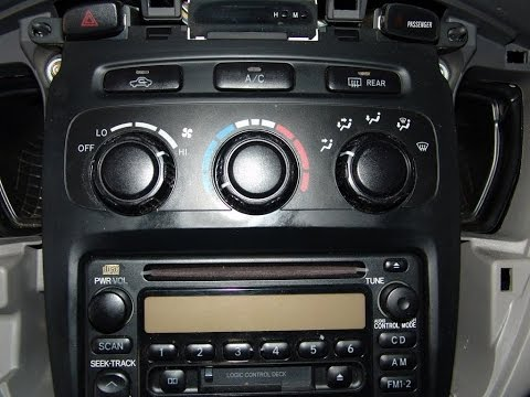 How To Repair Toyota Highlander Climate Control   DIY Tips