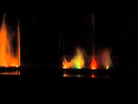 Ahmedabad - Gujarat Science City - Musical Fountain part 3