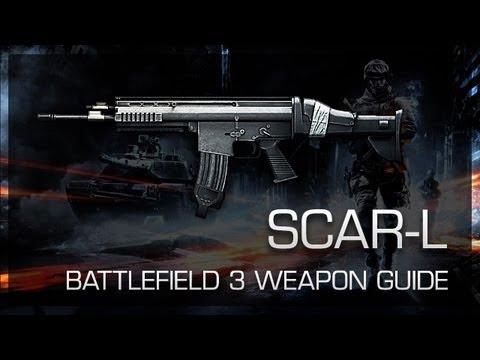 SCAR-L : Battlefield 3 Weapon Guide, Gameplay & Gun Review
