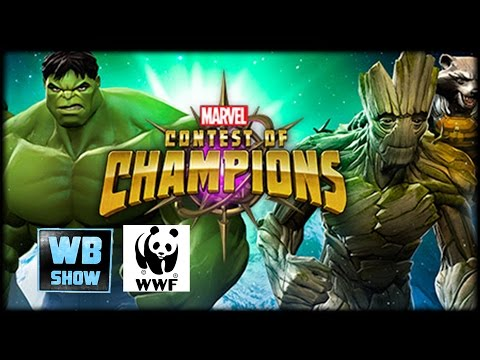 Marvel: Contest of Champions - WWF Green Guardians Story Event Battle [FULL]