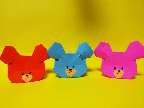 꼬마곰 재키 종이접기 How to Make Easy Paper Origami the Bears School