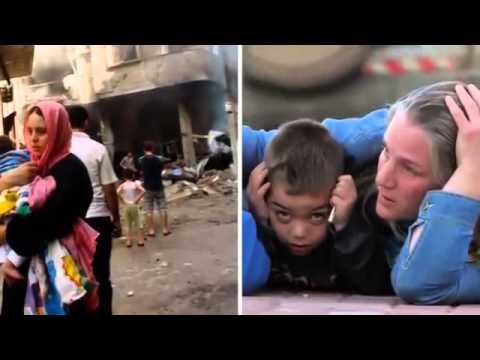 Gaza crisis  `Families killed` in Israeli air strikes   BREAKING NEWS