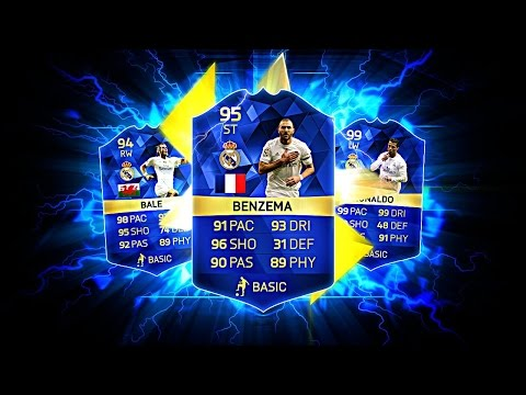 OMG TOTS BENZEMA AND THE REAL MADRID TOTS DREAM SQUAD! FIFA 16 ULTIMATE TEAM