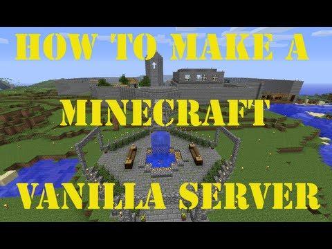 [Tutorial] How to make a Vanilla Minecraft Server [HD] 1.6.2 !