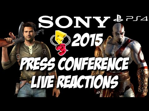 Sony Playstation E3 2015 Press Conference Live Reactions