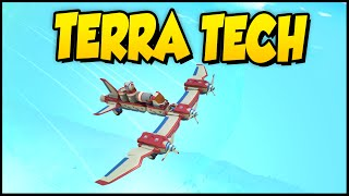 Terra Tech ➤ Epic New Jet Plane! Stunt Plane? [TerraTech Gameplay]